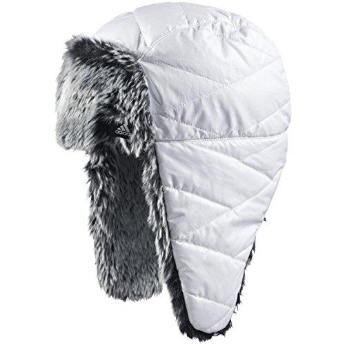 adidas Damen ClimaProof Uschanka Mütze Farbe: Weiß; Größe: OSFW = Einheitsgröße