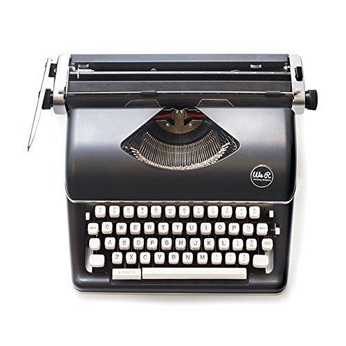 WE R Memory Keepers Schreibmaschine–Schwarz