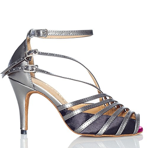 Miyoopark , Salle de bal femme Gray-8.5cm heel
