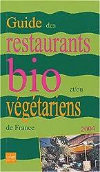 Guide restaurants bio/vegetarien 2004