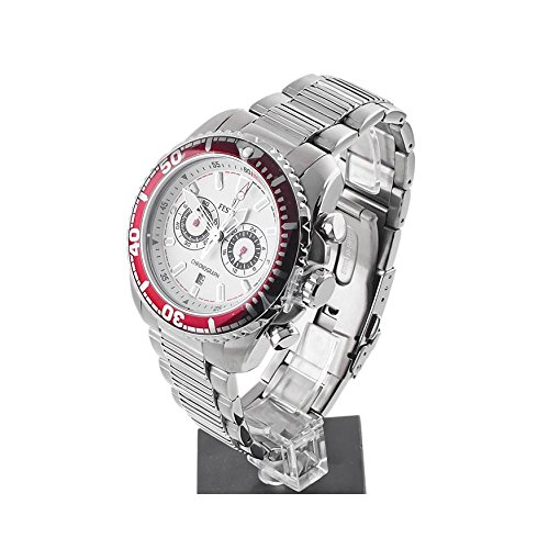 Herren Uhr Festina F16564/1Quarz (Batterie) Stahl Quandrante Silber Armband Stahl