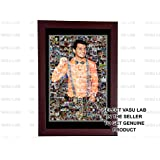 Generic Personalized Photo Mosaic Frame, 12x18 Inches (VCLWDP_119)