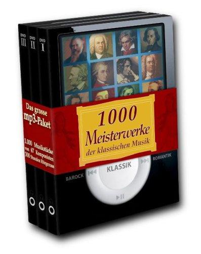 1.000 Meisterwerke der klassischen Musik (mp3-Paket)