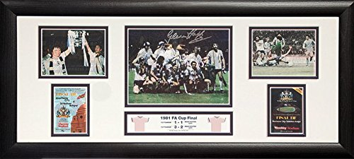 Glenn-Hoddle-signed-framed-Tottenham-1981-FA-Cup-Final-30×12-inch-storyboard-photo-with-COA-and-proof
