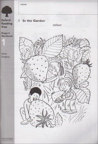 Oxford Reading Tree: Level 6: Workbooks: Workbook 1 (Pack of 6)