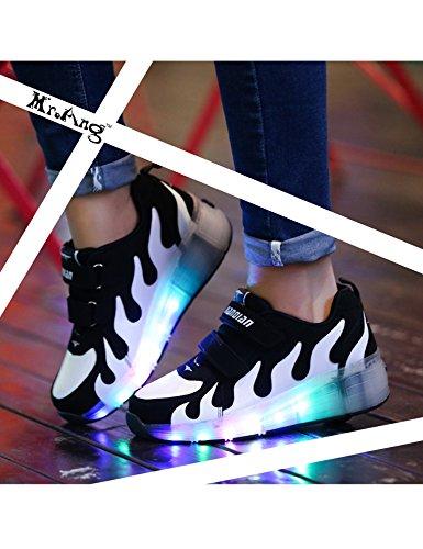 Mrang Mit Led Lichter Blinken Skateboard Schuhe Flugelart