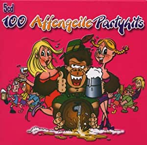100 Affengeile Partyhits - 5 CD Box