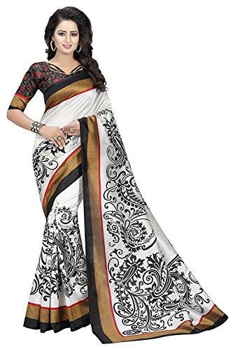 Sarees (Designer Sarees For women With Designer Blouse Piece Free Size Beautiful...