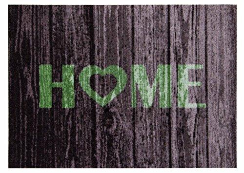 Andiamo 282327 Home Fußmatte, Polyamid, grün, 50 x 70 x 3 cm