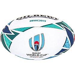 Gilbert Coupe du Monde de Rugby Japon 2019Réplique Boule 5 Multicolore