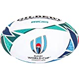 Gilbert Unisex's Rugby World Cup Japan 2019 Replica Ball, Multi-Colour, Size 5