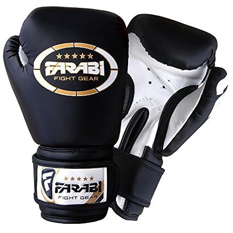 Junior kids 6-oz Boxing Gloves Sparring , training bag mitt gloves