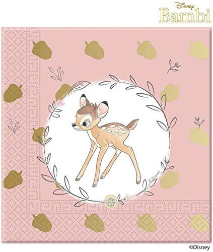 PROCOS Bambi Süße Papier Party Mittagessen Servietten (20 Pack)