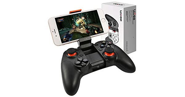 Lcose pro android bluetooth gamepad mit teleskop handy halter