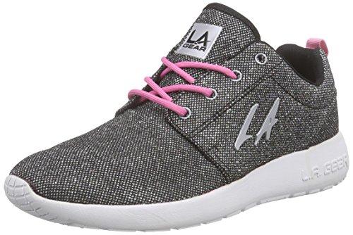 la-gear-womens-sunrise-low-top-sneakers-black-size-5
