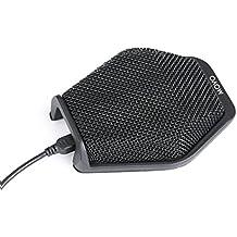 Movo MC1000 micrófono USB para conferencias para computadoras de escritorio con alcance de audio 180°/20' para Windows y Mac - Plug & Play