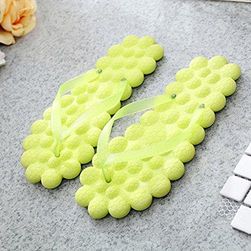 Unisex Flip-Flop Donna Tanga Comfort Sandalo Yoga Mat Flip-Flop Sandy Sandalo -Moda serie fresco Yellow