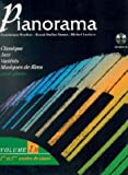 partition pianorama piano 2 et 4 mains volume 1b partition cd