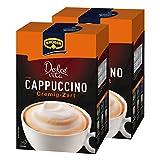 Krüger Dolce Vita Cappuccino, Cremig-Zart, Milchkaffee, Milch Kaffee aus löslichem Bohnenkaffee, 20 Portionsbeutel