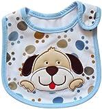 Lovely Cute Cartoon Pattern Toddler Baby Waterproof Saliva Towel Baby Bib (Dog Pattern)