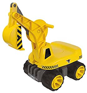BIG 800055811 – Power-Worker Maxi-Digger, gelb