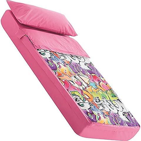 Saco nórdico para cama 90x190/200 cm GRAFFITI (sin relleno)