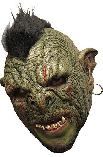 Orc Maske - Orc-Maske Deluxe Latex
