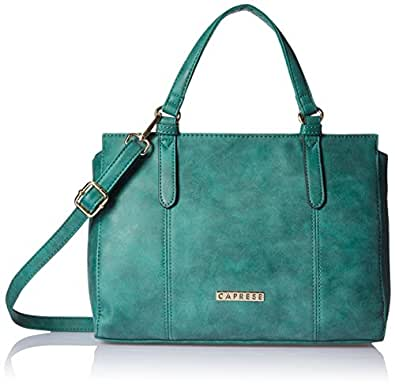 Caprese Spring-Summer 17 Women's Satchel (Emerald)