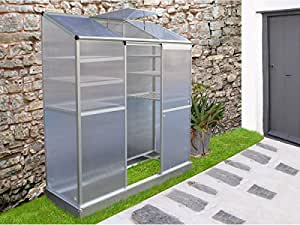 Viva Green - Mini serre de jardin ou balcon polycarbonate Capucine 1.23m²