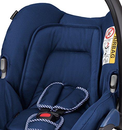 Maxi-Cosi Citi Babyschale (in Kombination mit allen Maxi-Cosi und Quinny-Kinderwagen und Buggys flexibel einsetzbar, Leichtgewicht und für das Flugzeug zugelassen, Gruppe 0+, bis 13 kg) river blue