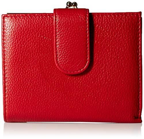 Buxton Damen Wallet Chelsea RFID-Lexington-Geldbörse, rot, Einheitsgröße - Gerahmte Geldbörse Aus Leder