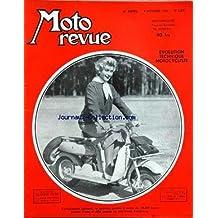 MOTO REVUE [No 1207] du 09/10/1954 - evolution technique motocycliste - la ligne terrot triomphe au tour de france de moto, les pilotes blairon, corti, gamelin, spalec, dattez et dendegris, girard, duruy - le lieut.-colonel lefort