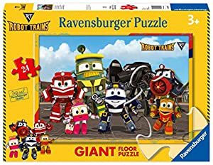 Ravensburger Italia 05539-Robot Trains Puzzle de 24Piezas