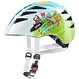 Uvex Kid 1 Friends Train Kinder Fahrrad Helm Gr. 47-52cm weiß/grün 2018