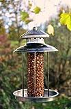 Vogelfutterspender Vogelfutterhaus aus Metall Bird´s Heaven Vogelhaus für Nüsse Vogelfutter - 4