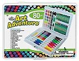 Royal Brush Manufacturing Company Art Adventure 80-Piece Art Activity Set II