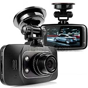 FULL-HD 1080P Car DVR Vehicle Camera Recorder Dash Cam G-sensor HDMI (CAR DVR + 8GB SD CARD)