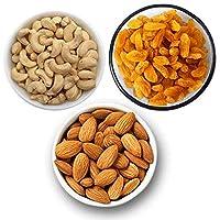 Spicy Carte Dry Fruits Combo Pack - Cashew Nut, Almond & Raisins, 1kg