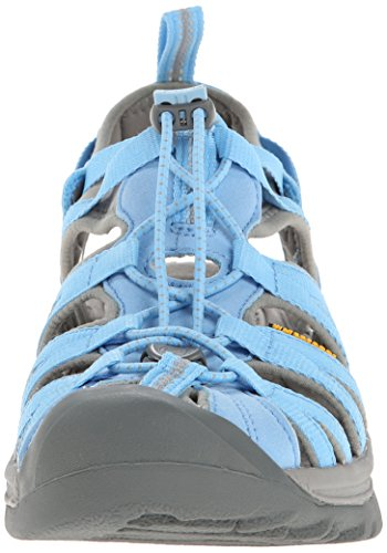 Keen  WHISPER W-BOSSA NOVA/NEUTRAL GRAY, sandales femme Bleu