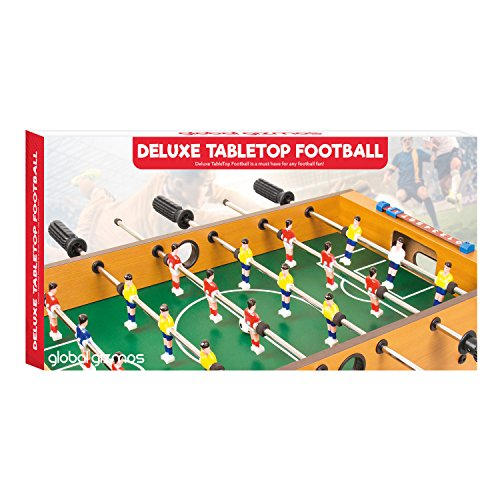 Global Gizmos 50580 Large Size Table Top Football Foosball Game