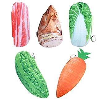 ADIASEN 1-pieces Cloth Unique Simulation Farm Fruit for Pencil Case Pencil Bags Pencil Holder / Box, Storage Bag, Cosmetic Bag