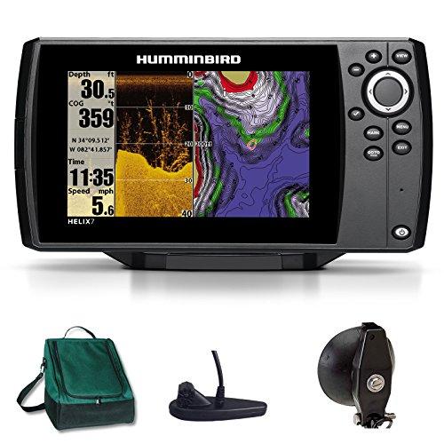 Humminbird Helix 7 DI GPS Down Imaging Echolot Seekartenplotter Combo Portabel Basic Plus