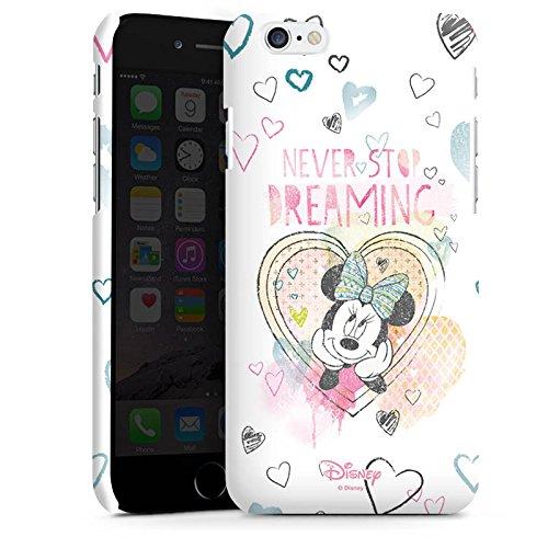 Apple iPhone 7 Plus Tasche Hülle Flip Case Disney Minnie Mouse Fanartikel Geschenke Premium Case matt