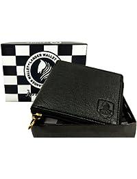 [Sponsored]LANDER Men's Black Genuine Leather Wallet