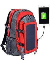 af1b40949a HCC& Grande Capacité Sac À Dos De Plein Air Énergie Solaire Charge USB Sac  De Voyage