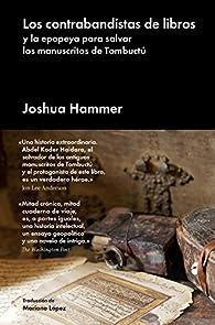 Los contrabandistas de libros par Joshua Hammer