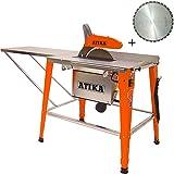 ATIKA HT 315 2000W 230V Tischkreissäge Tischsäge Montiert + Ersatzblatt *NEU*