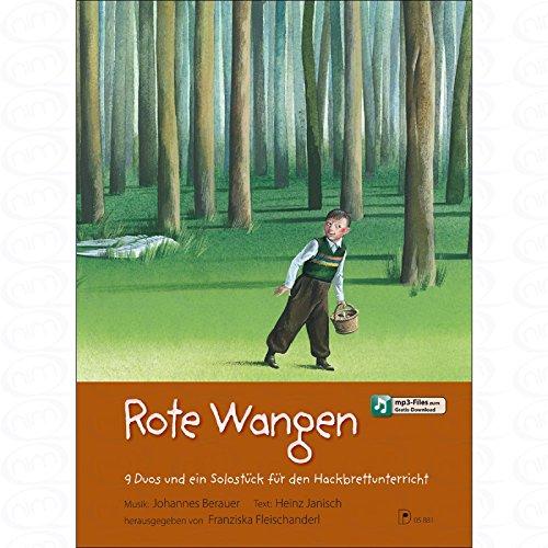 Rote Wangen - arrangiert für Hackbrett - (für ein bis zwei Instrumente) [Noten/Sheetmusic] Komponist : Berauer Johannes