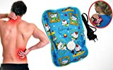 #3: J GO Electric Heat Bag Hot Gel Bottle Pouch Massager Warm For Winter Aches Reliever