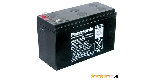 Panasonic Lc R127r2pg Blei Akku Elektronik